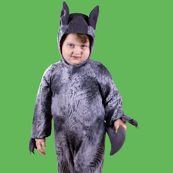 Как сделать волка костюм
