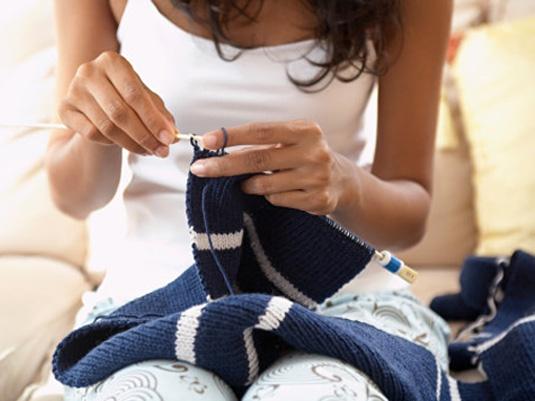 Как вязать рукав на свитер