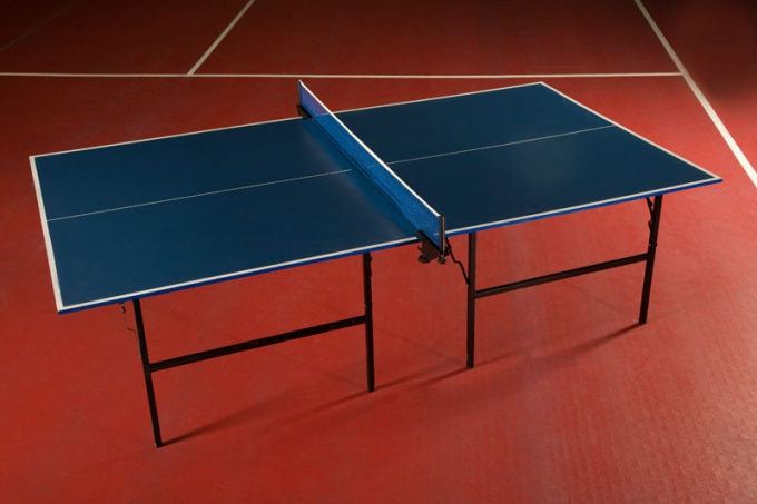 Как сделать стол для настольного тенниса