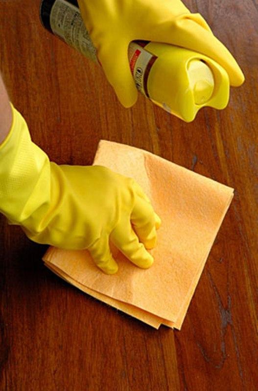 Как заделать царапины на мебели