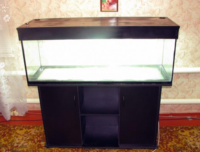 Как сделать светильник для аквариума