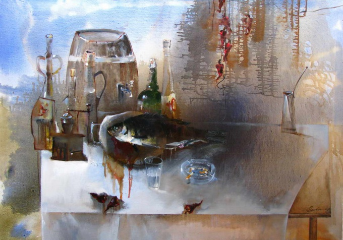 How to paint a still-life watercolor