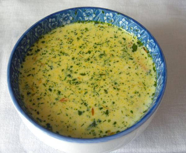 Как приготовить сливочный суп с креветками