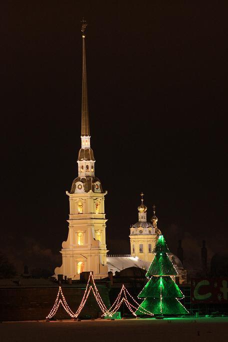 Как встретить Новый год в Петербурге