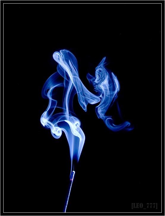 Как фотографировать дым