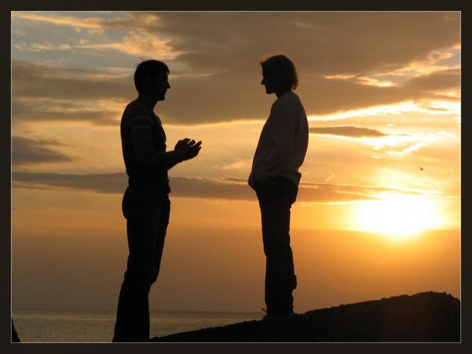Как разговаривать с другом