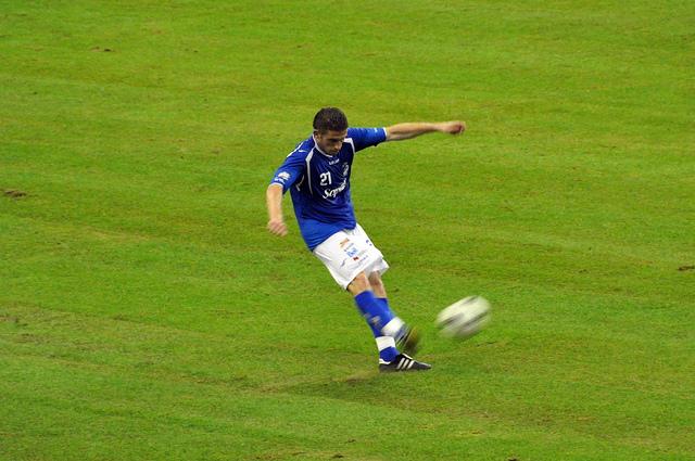 Как тренировать футболиста