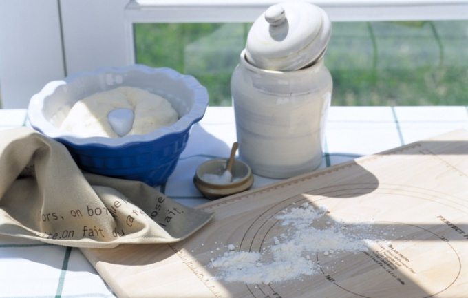How to fry flour
