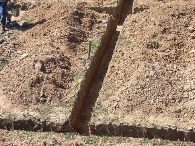 Как копать траншею
