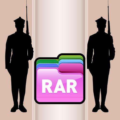 Как открыть RAR файл с паролем