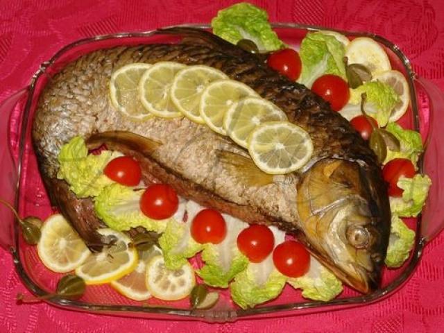 How to cook stuffed carp