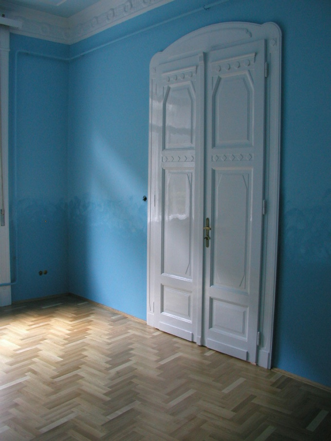 How to clean a parquet floor