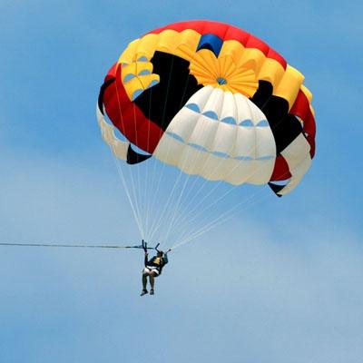 Как сделать игрушечный парашют