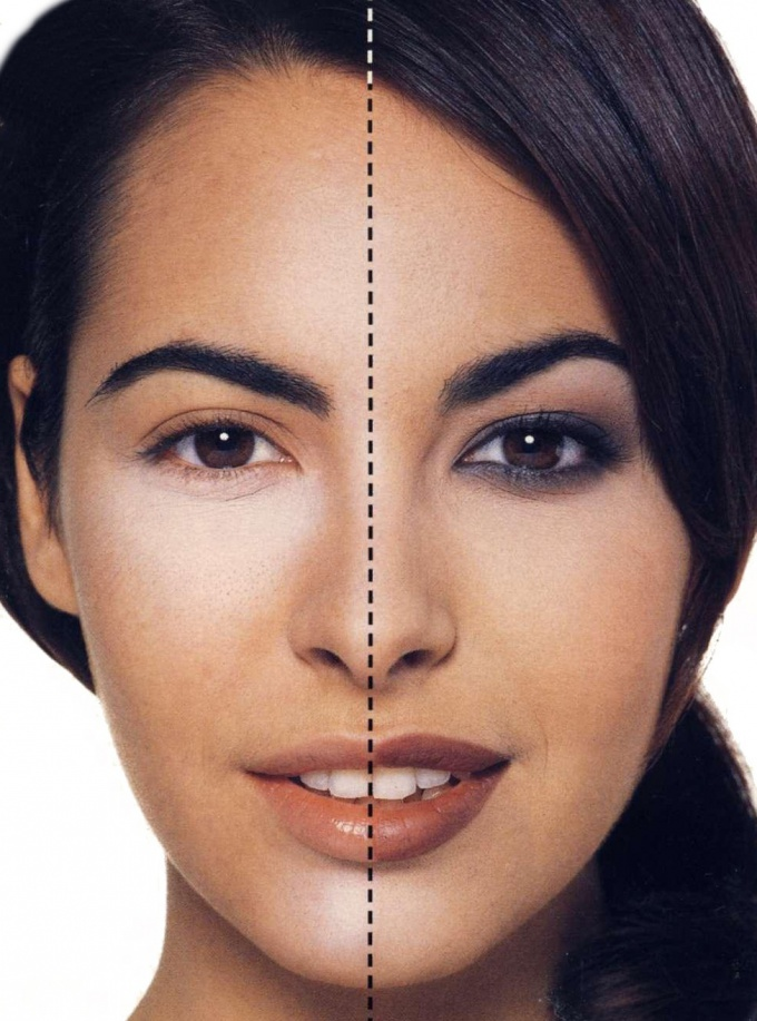 How to make the face thicker