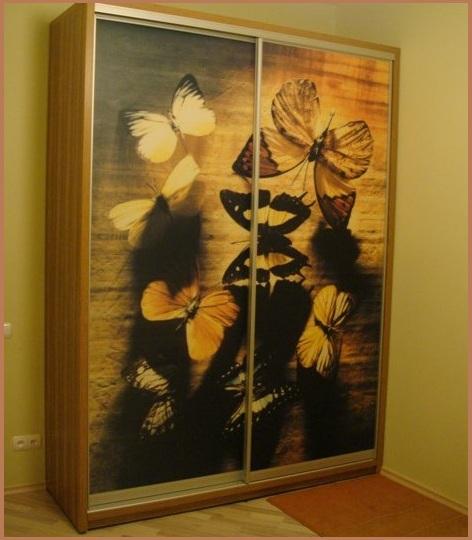 Как украсить ветхий шкаф