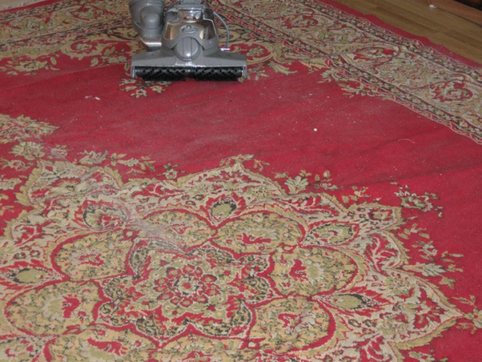 How to wash carpet