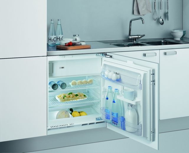 How to embed a conventional refrigerator