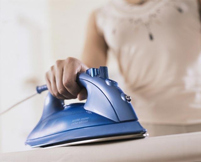 Как убрать лоск от утюга
