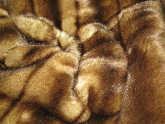 Как сшивать натуральный мех