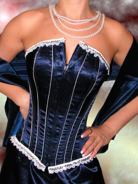 How to lace up corset