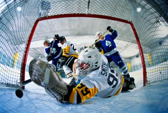 Как сделать хоккейные ворота