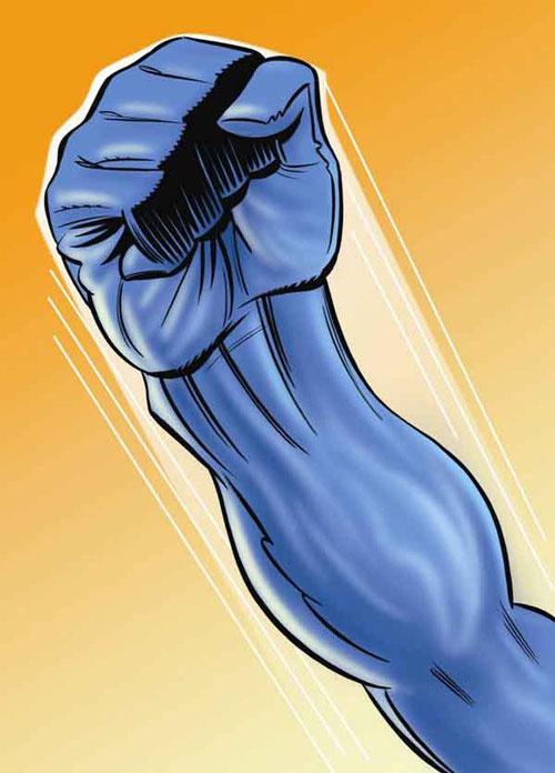 Как удерживать кулак при ударе