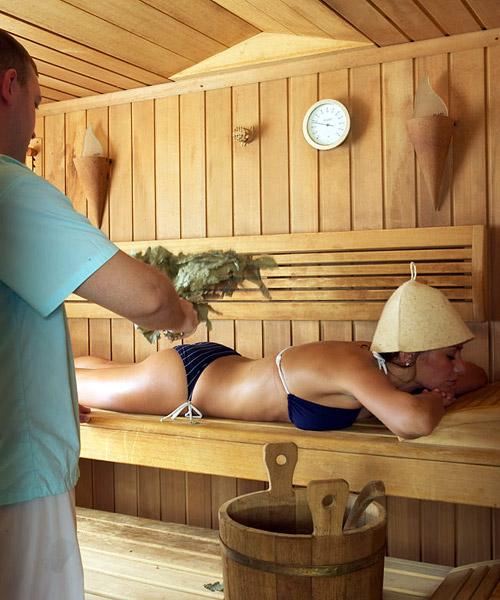 Как парить в бане