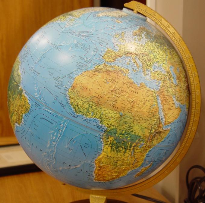 How to draw globe
