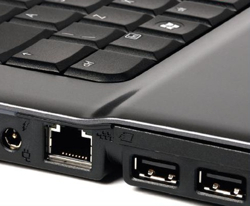 How to connect two laptops via LAN