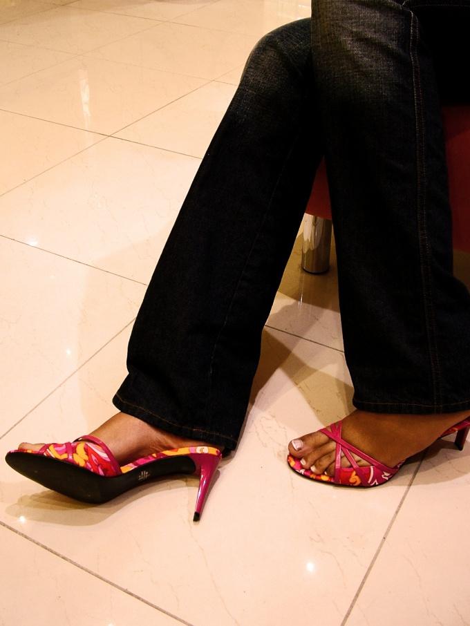 Как скрыть полные ноги