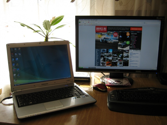 How to sync laptop and computer