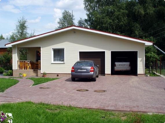 Как построить гараж на своем участке