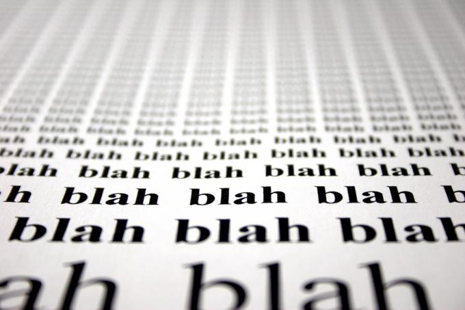 Как написать обзор текста