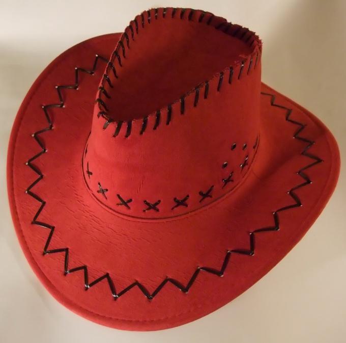 Как сделать ковбойскую шляпу