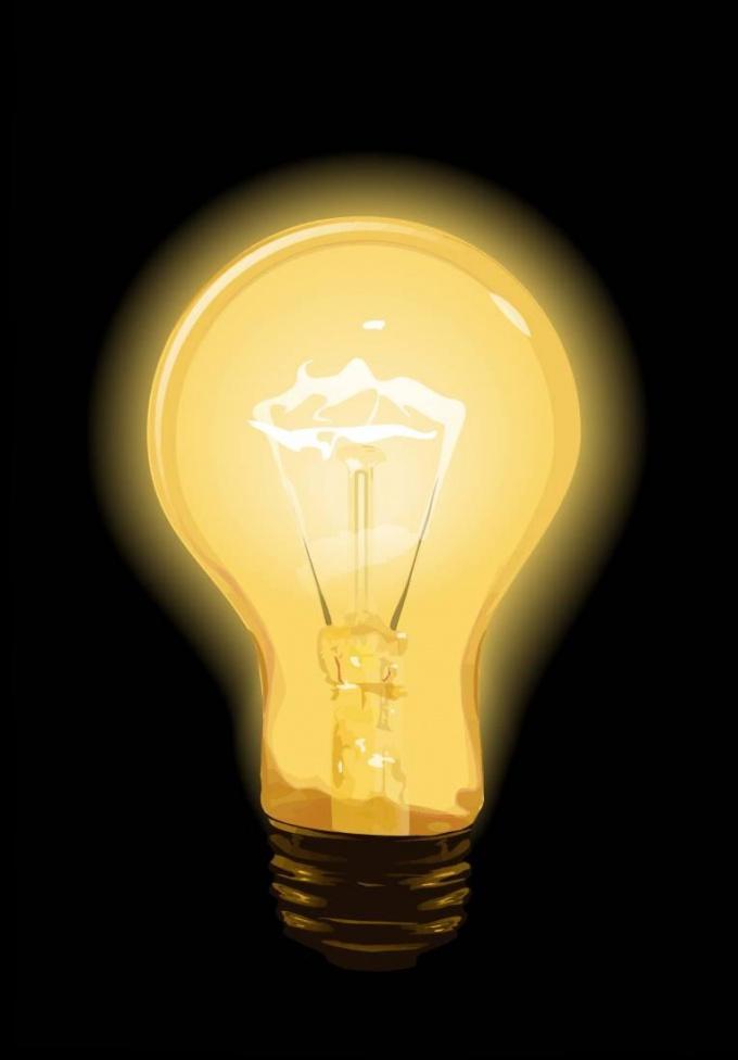 Как нарисовать лампочку