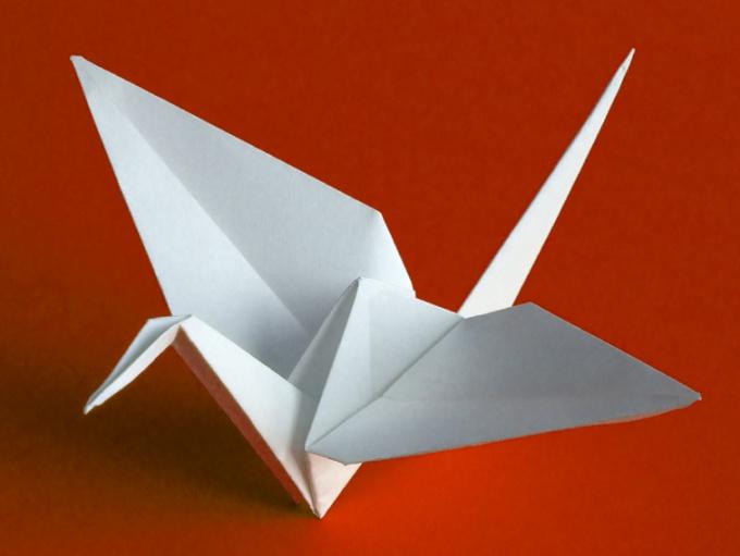 Оригами или как сделать кошку из