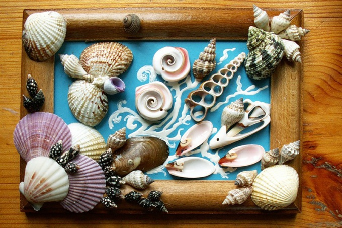 How to glue seashells