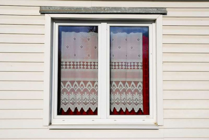 Как сшить шторы из тюли