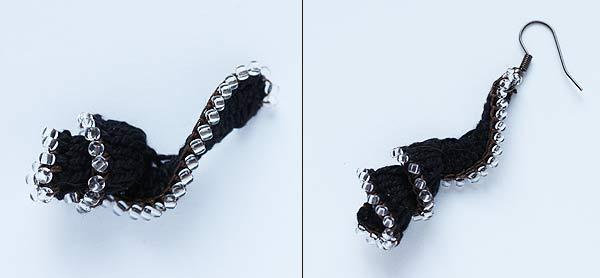 Как связать крючком спиральку