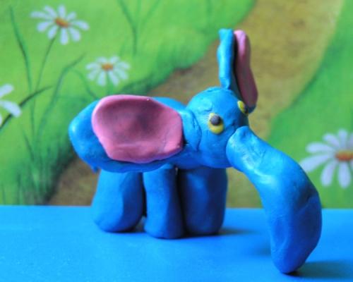 Как слепить слона