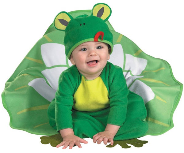 How to make a frog costume