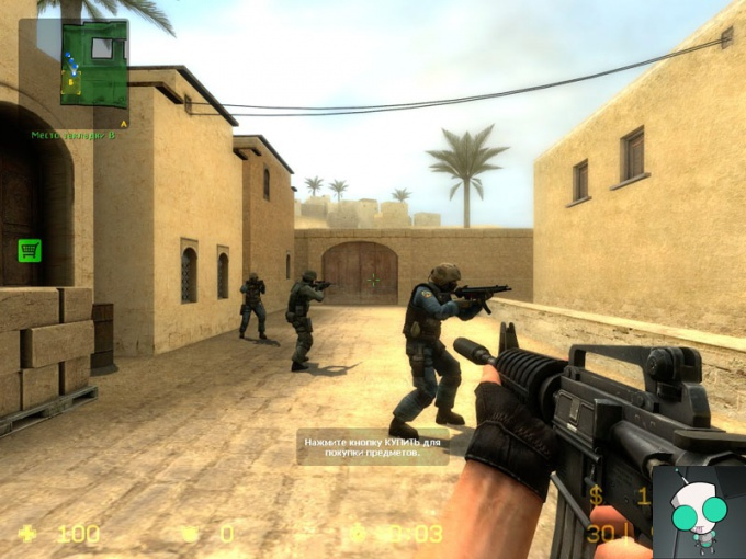 How to create bots in counter strike