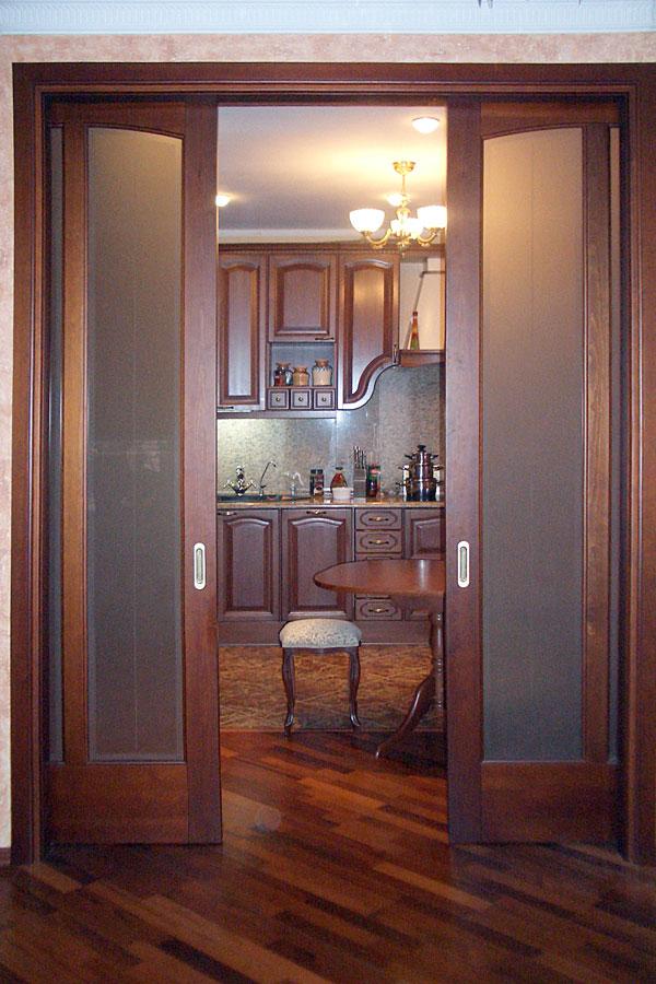 Как поставить раздвижные двери