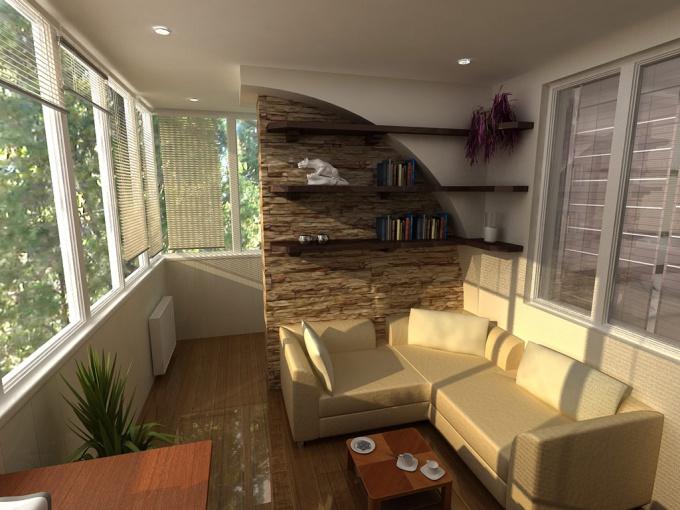 Как соединить комнату и балкон