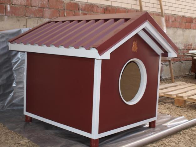 Как построить для собаки конуру