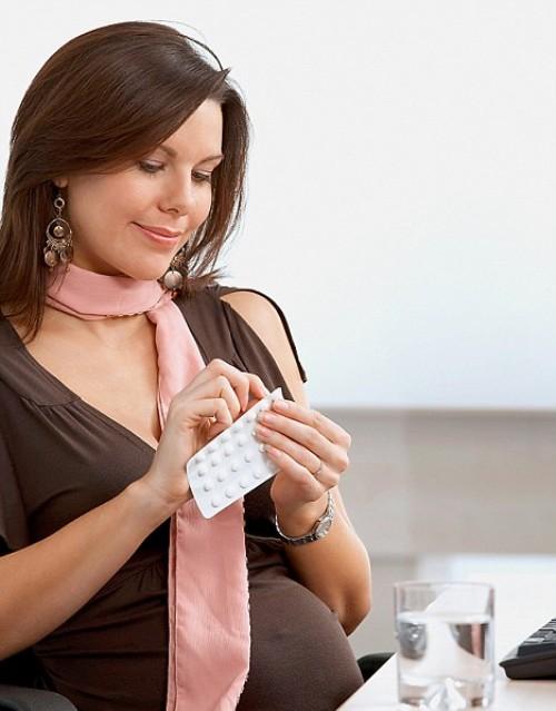 Как сбить температуру во время беременности