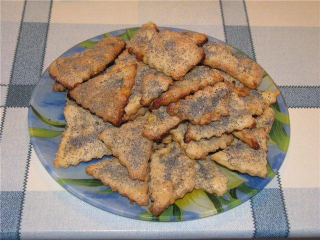 Как готовить коржики с маком