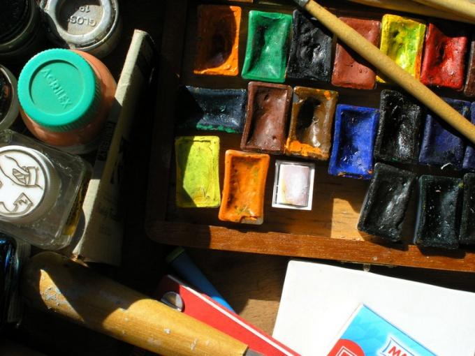 Как нарисовать картину красками