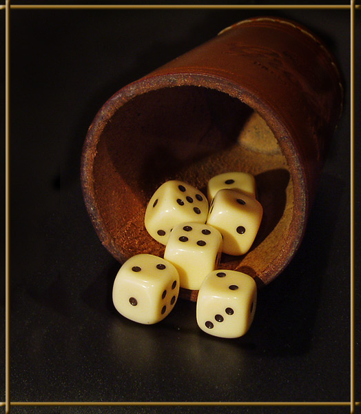 How to throw the dice