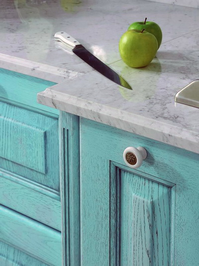 How to update old kitchen furniture